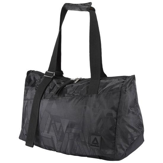 Reebok - Lead & Go Graphic Grip Duffle Bag Black BR9470