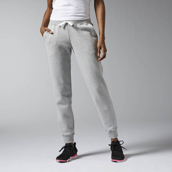 Reebok - Elements Fleece Cuffed Pant Medium Grey Heather AJ3205
