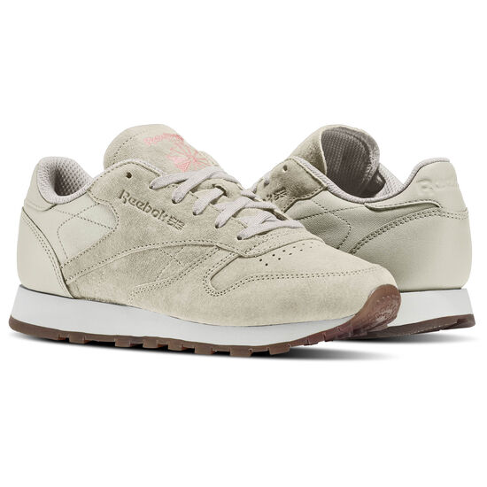 Reebok - Classic Leather EB Sand Stone/Chalk/Sour Melon-Gum BS5112