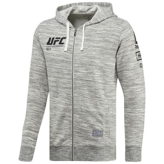 Reebok - UFC Ultimate Fan Full Zip Hoodie Chalk BP8775