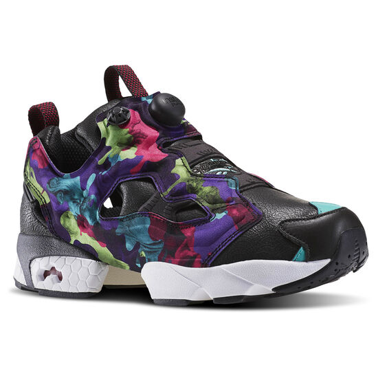Reebok - InstaPump Fury Interrupt Coal/Emerald Sea/Pink Craze/White/Black BD1548