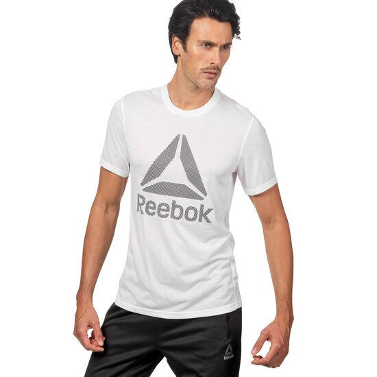 Reebok - Workout Ready Supremium 2.0 Big Logo Tee White BK6318