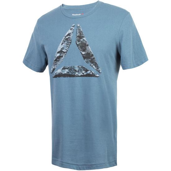 Reebok - Camiseta Break & Build BRAVE BLUE BR1939