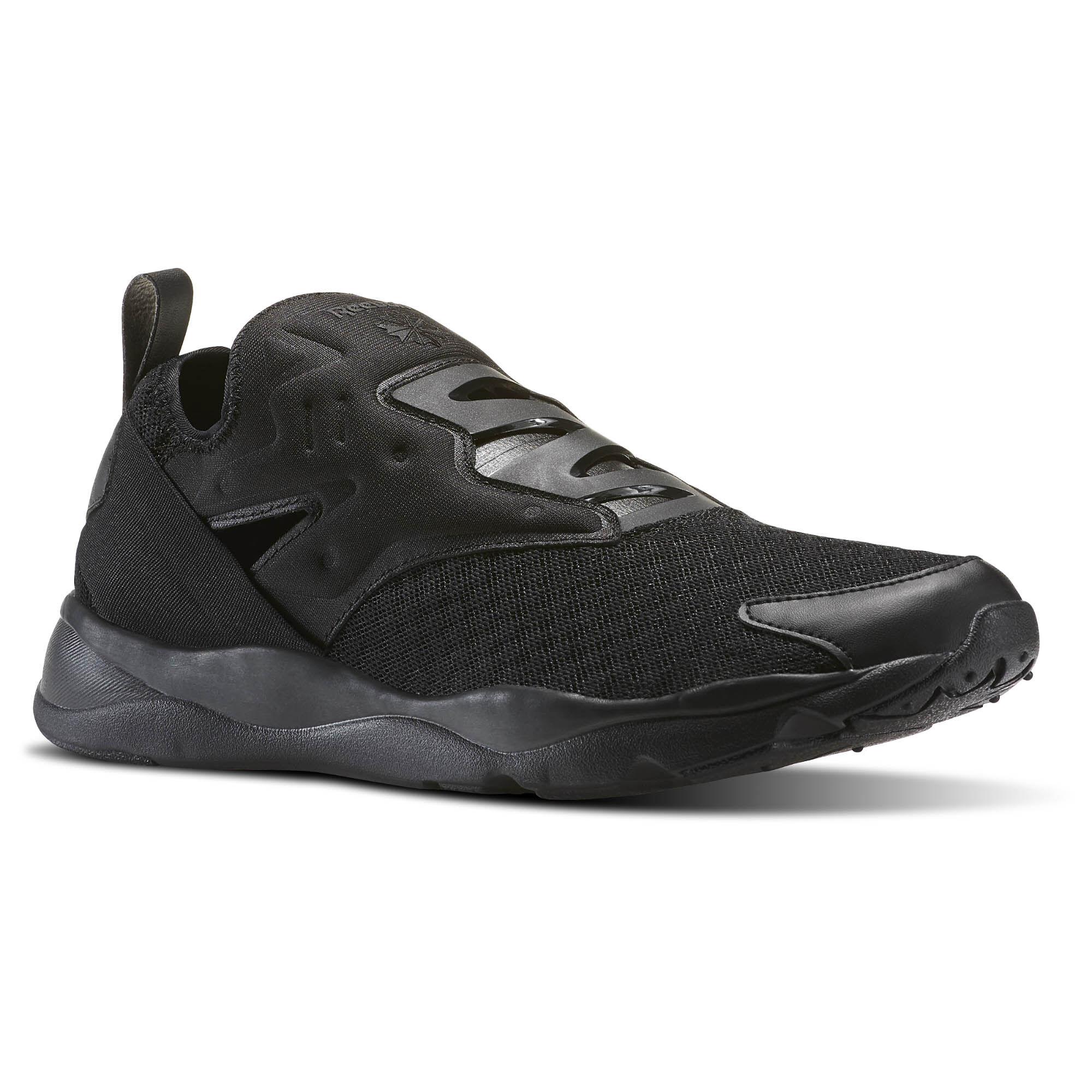 712aa6b0467965 reebok reebok fury lite men sneakers all black  reebok furylite slip on emb black  white bd1724