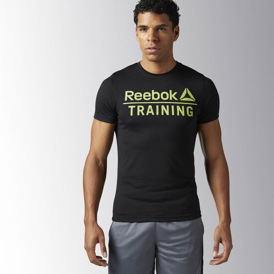 Reebok - Reebok Training Speedwick Tee Black BK6604
