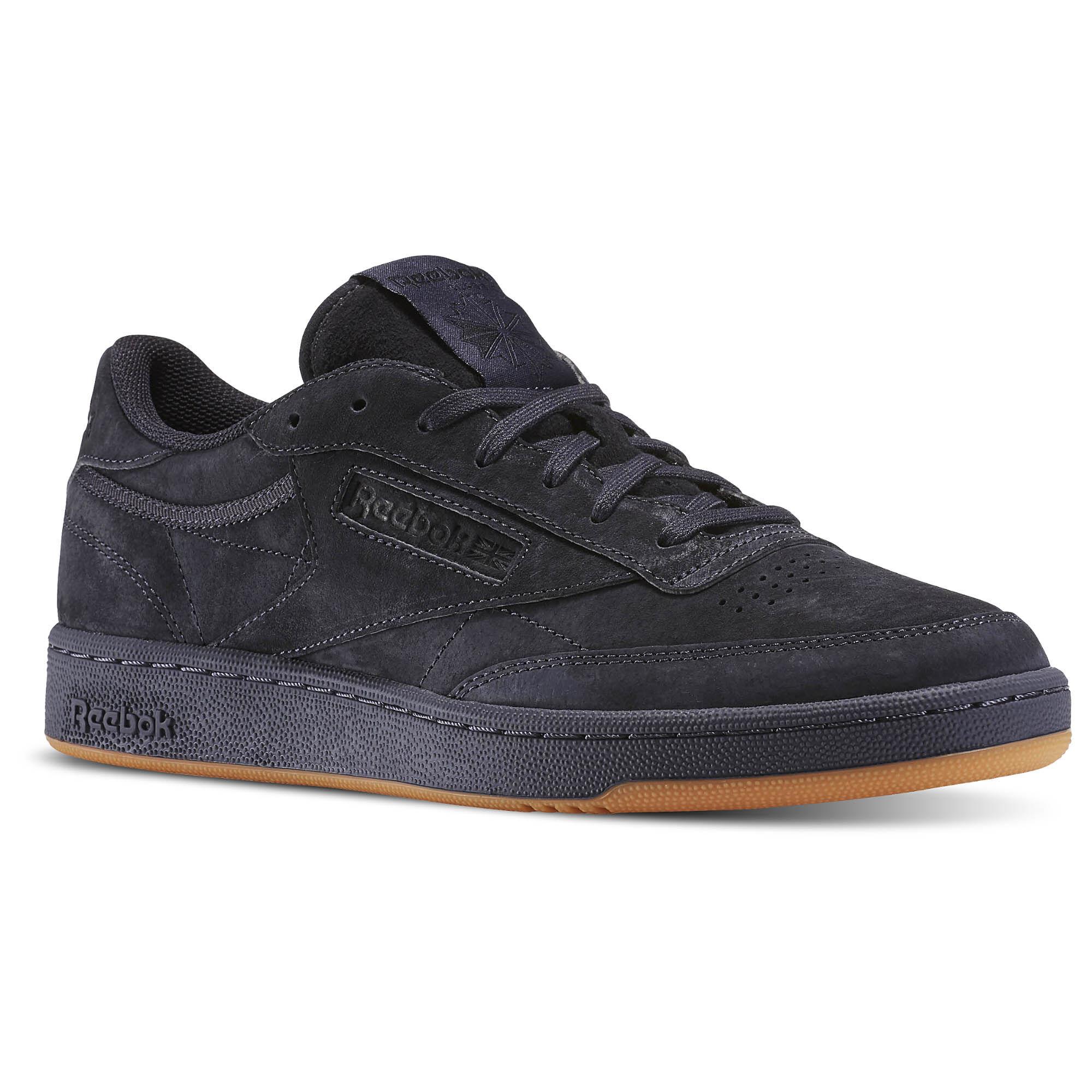 Reebok Men S Shoes Club C Black