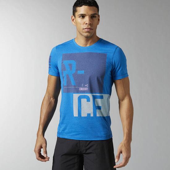 Reebok - Remera de CrossFit Blue Sport AI1327