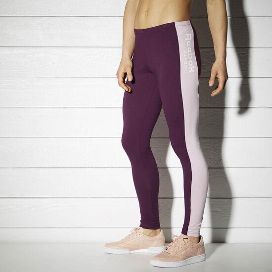 Reebok - Calça Legging Fitness PACIFIC PURPLE BK4155