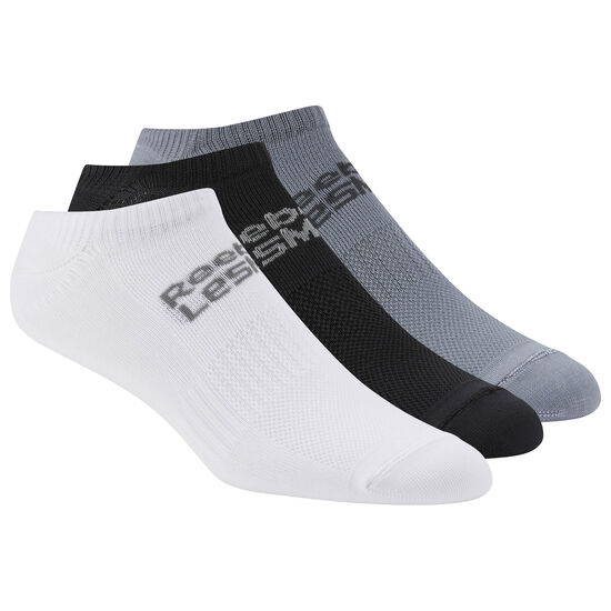 Reebok - LES MILLS™ Unisex Sock - 3pack White/Black/Astdus CD8555