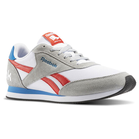 Reebok - Reebok Royal Classic Jogger 2RS Baseball Grey/White/Riot Red/Inst Blue/Black AR1518
