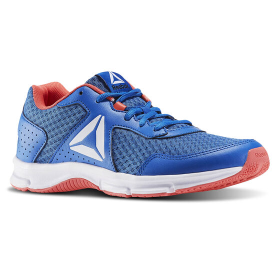 Reebok - Express Trainer Echo Blue/Awesome Blue/Fire Coral/White/Black BD5782