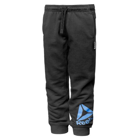 Reebok - Boys Essentials Big Logo Sweat Pants Black BK4231