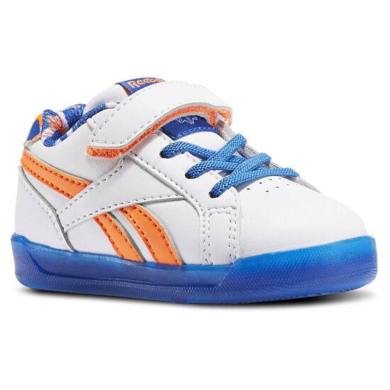 Reebok - Step N' Flash 3.0 White/Awesome Blue/Wild Orange BD4392