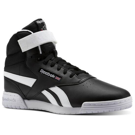 Reebok - Ex-O-fit Clean Hi S Black/White BS5326