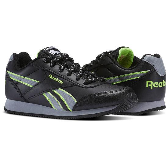 Reebok - Reebok Royal Classic Jogger 2RS Black/Flint Grey/Solar Green BS8708