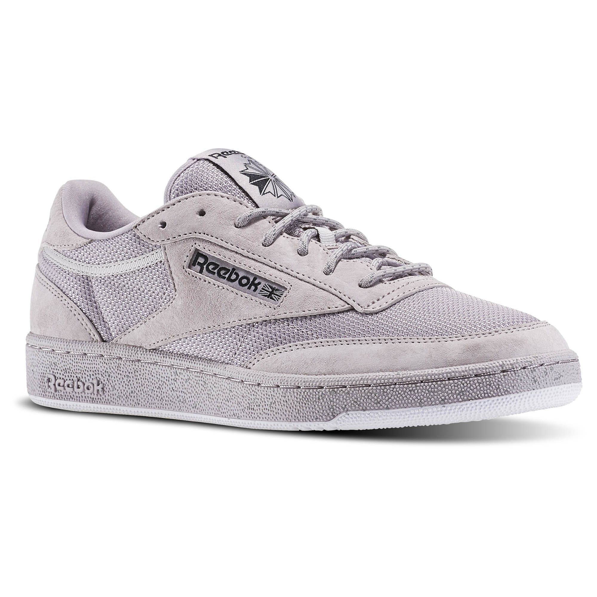 reebok club c 85 st grey reebok mlt. Black Bedroom Furniture Sets. Home Design Ideas