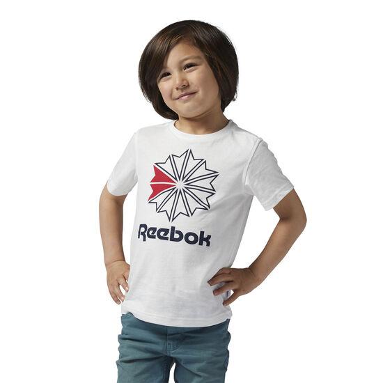 Reebok - Reebok Classics Large Logo Tee Chalk BR9231