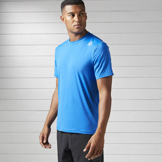 Reebok - Workout Ready ACTIVCHILL Tech Tee Awesome Blue BS1405