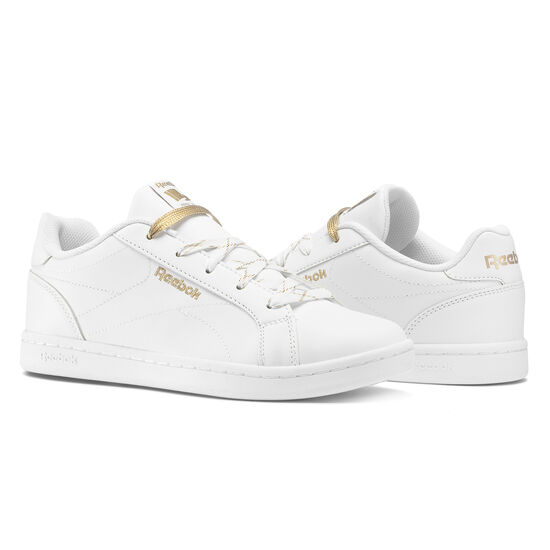 Reebok - Reebok Royal Complete CLN White/Gold Metallic BS8482