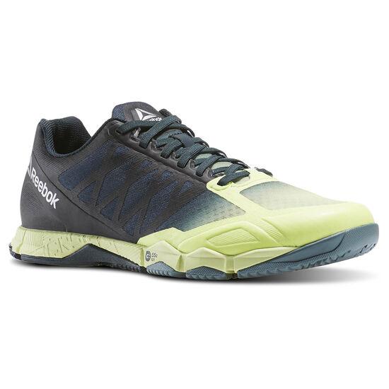 Reebok - Zapatillas de CrossFit Speed TR Lemon Zest/Forest Grey/Teal Dust/Black AR3077