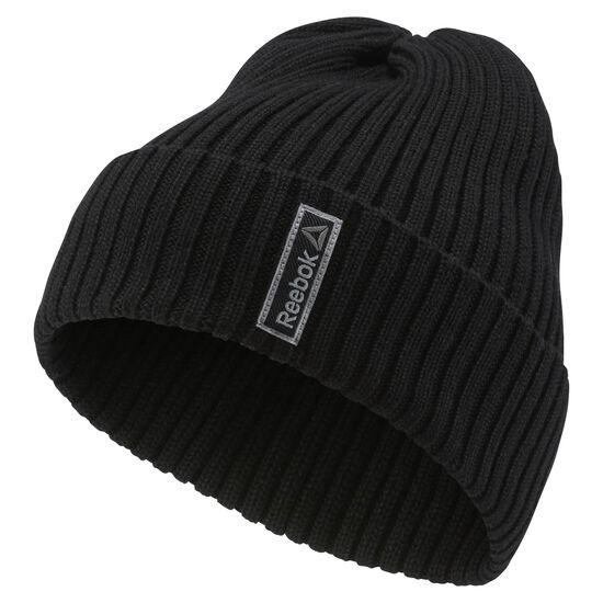 Reebok - Sport Essentials Logo Beanie Black AY0430