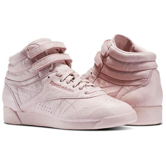 Reebok - Freestyle Hi FBT Polish Pink BS6279