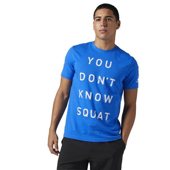 Reebok - Koszulka Dont Know Squat Vital Blue BQ8301