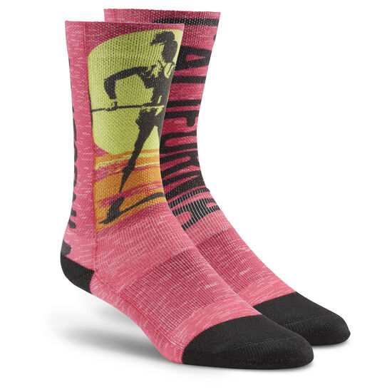 Reebok - 2016 CrossFit Games Socks - FOE Brilliant Pink BI2196