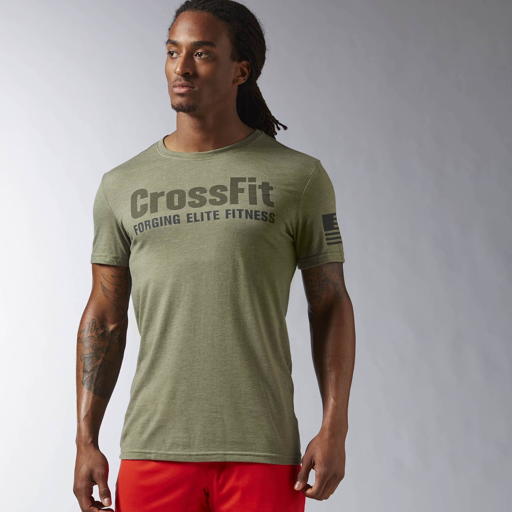 Reebok crossfit forging elite fitness tee for Reebok crossfit t shirts