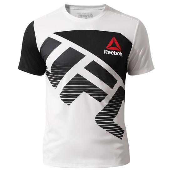 Reebok - UFC Fight Kit Walkout Jersey Chalk/Black AZ9024