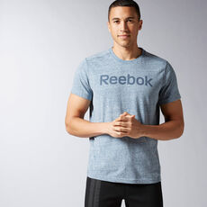 Reebok - Elements Big Logo Tee Collegiate Navy AY1588