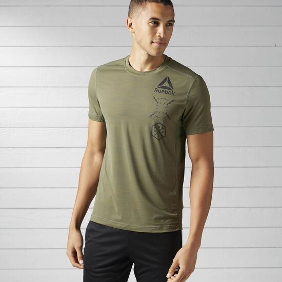 Reebok - Camiseta Ost Activchill G Hunter Green BK3974