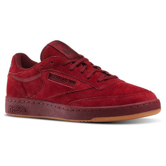 Reebok - Club C 85 TG Collegiate Burgundy/Dark Red-Gum BD1884