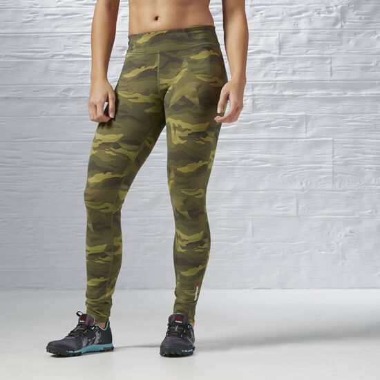 Reebok - Reebok ONE Series Camo Tight Canopy Green AI4162