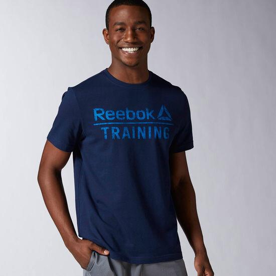 Reebok - REEBOK TRAINING TEE Conavy AY1055