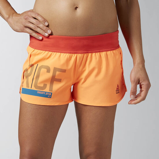 Reebok - Reebok CrossFit Ass To Ankle Short Electric Peach/Laser Red AI9789