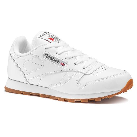 Reebok - Classic Leather - Children White/Gum/Int AR1148