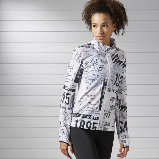 Reebok - Running Woven Jacket White S99829