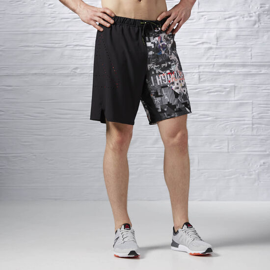 Reebok - Reebok ONE Series Running Graphic Board Short Black S94237