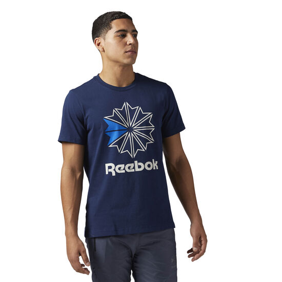 Reebok - Reebok Classics Graphic Tee Collegiate Navy BQ3480