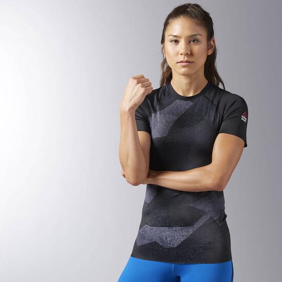 Reebok - Reebok CrossFit Short Sleeve Paddle Tee Black BK1027