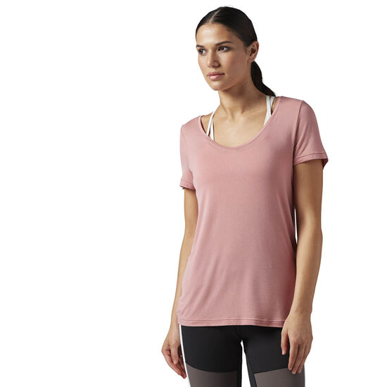 Reebok - Favourite Tee Sandy Rose BQ7178