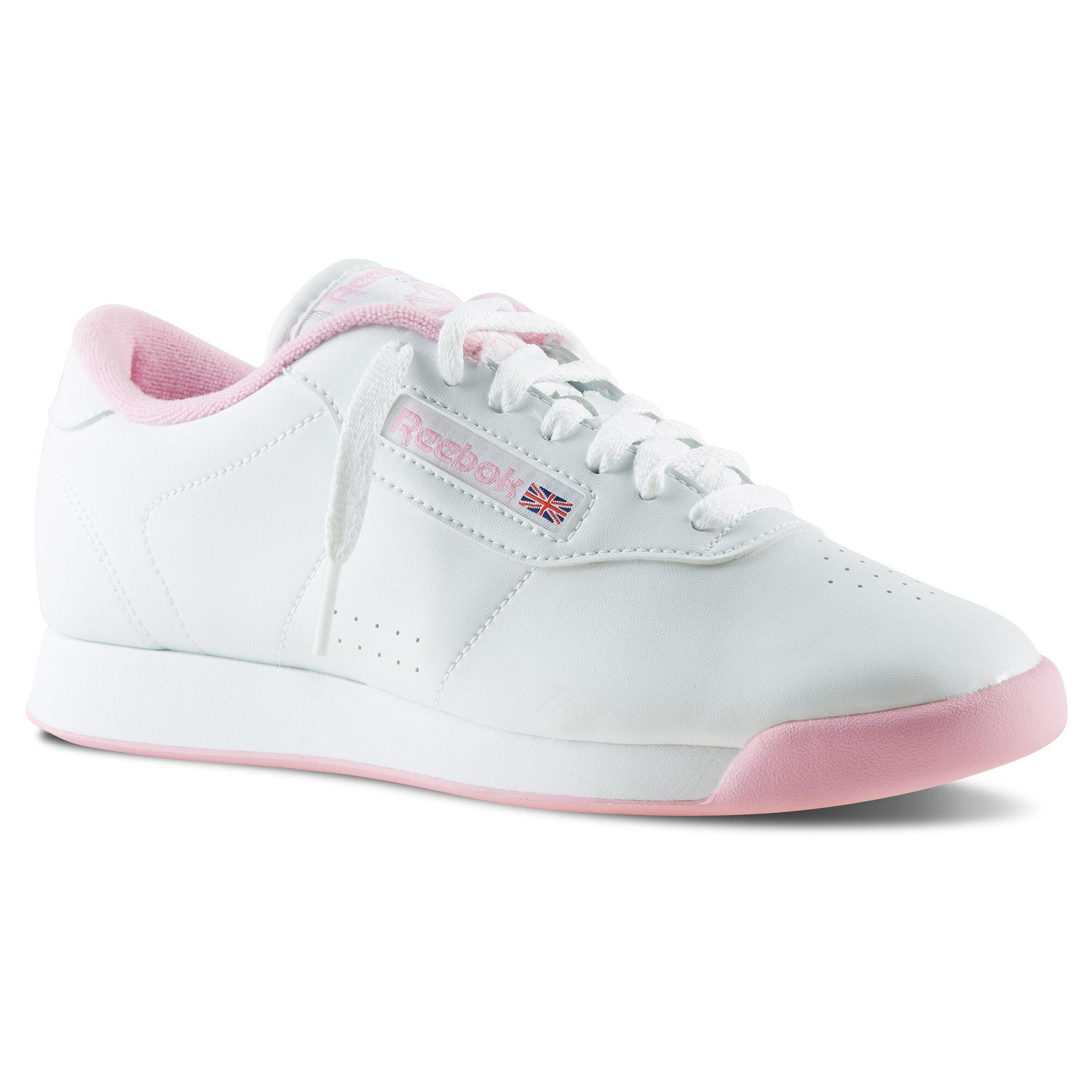 Zapatos Reebok Blanco Con Rosado