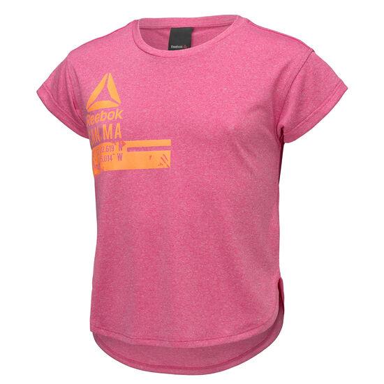 Reebok - Girls Workout Ready Polyester Tee Pink Craze BK4230