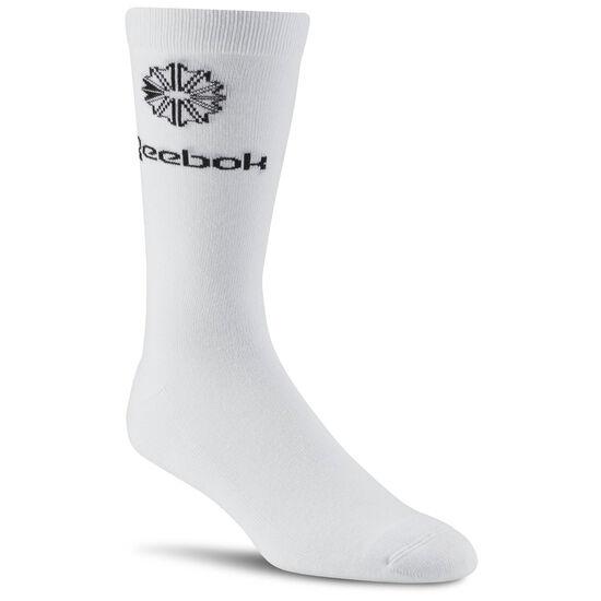 Reebok - Reebok Classics Iconic Taping Socks White CE0583
