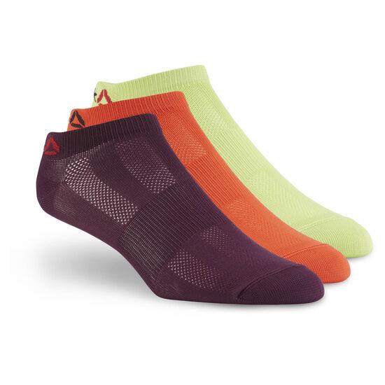 Reebok - Reebok ONE Series Socks - 3pack Kiwi Green /Carotene /Pacific Purple BP6244