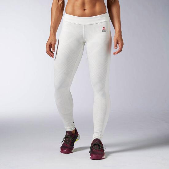 Reebok - Femmes Reebok CrossFit Chase Shemagh Tight Chalk AX9696