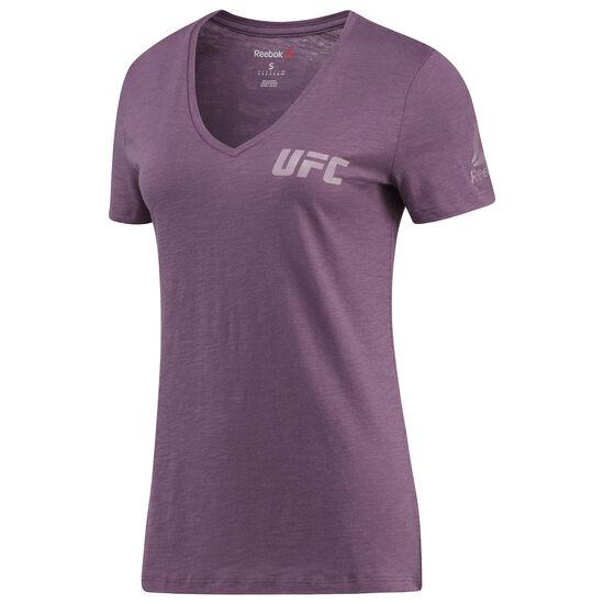 Reebok - Femmes UFC Fan Gear Triblend Short Sleeve Tee Wasplm BR0385