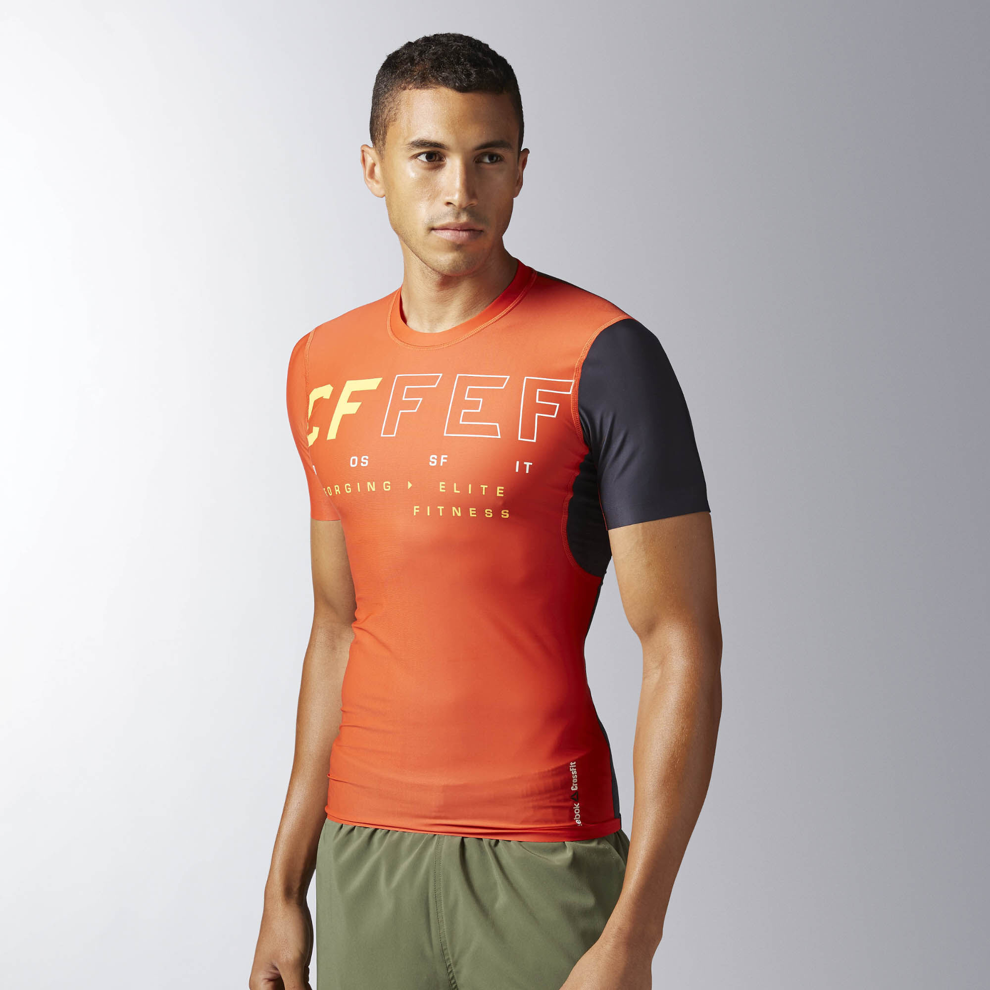 Reebok crossfit compression t shirt for Reebok crossfit t shirts