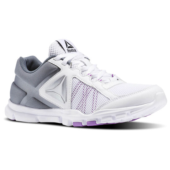 Reebok - Yourflex Trainette 9.0 MT White/Alloy/Vicious Violet BS8041